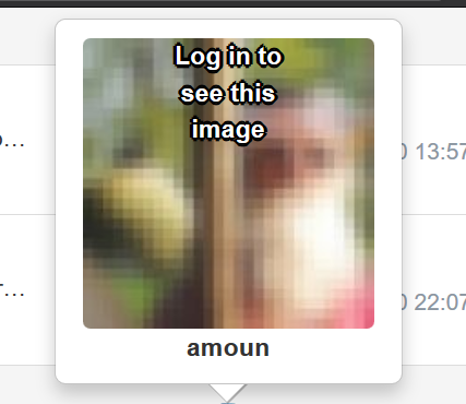 The profile picture anomaly and location text and . .